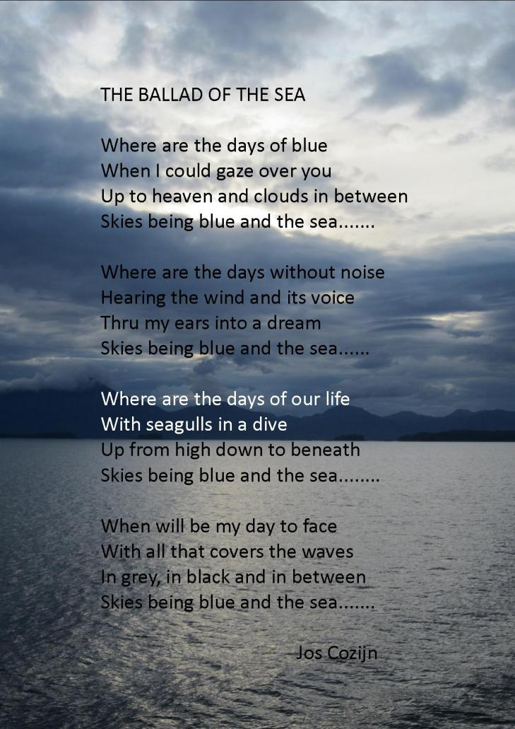 The ballad of the sea